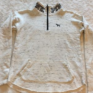 PINK Half Zip Pullover Jacket Sz XS